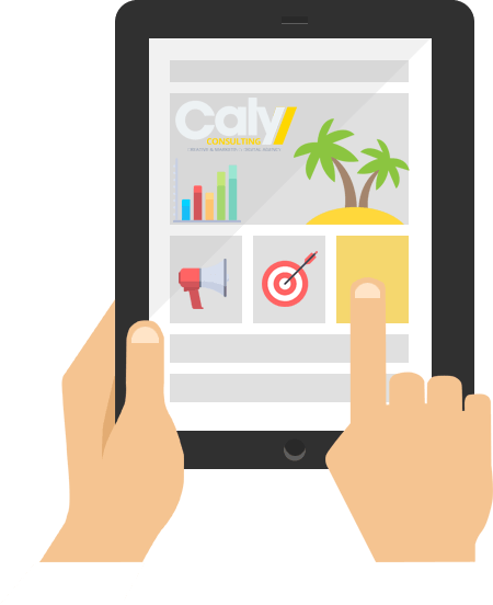 Site web compatible tablette et smartphone