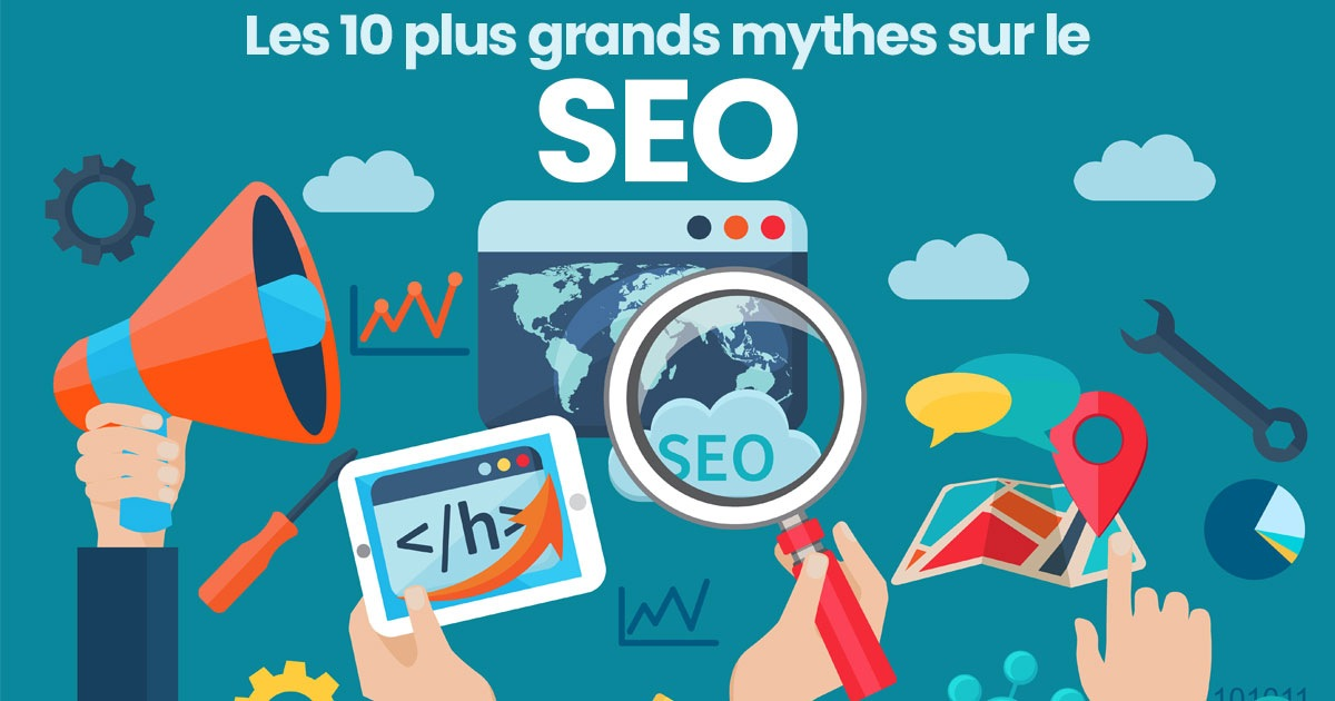 Les 10 plus grands mythes du SEO